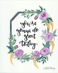 AC142 - You're Gonna Do Great Today   - 12x16
