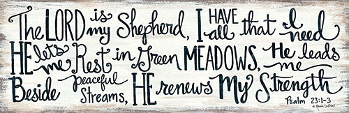 Annie LaPoint ALP1688 - The Lord is My Shepherd - Lord is My Shepherd, Psalm, Bible Verse from Penny Lane Publishing
