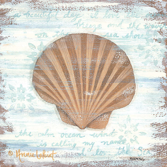 Annie LaPoint ALP1732 - Ocean Scallop Scallop, Shell, Nautical from Penny Lane