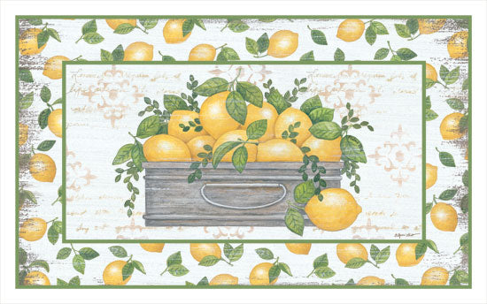 Annie LaPoint ALP1757 - Lemon Galvanized Bucket Lemons, Galvanized Bucket, Lemon Border, Kitchen from Penny Lane