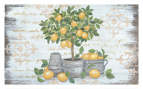 Annie LaPoint ALP1760 - Lemon Topiary Lemons, Topiary, Galvanized Buckets, Lemon Tree from Penny Lane