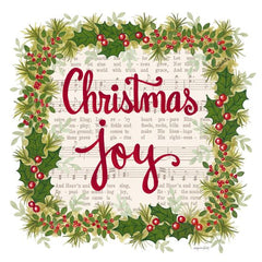 ALP1810 - Christmas Joy Holiday Wreath - 12x12