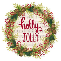 ALP1811 - Holly Jolly Holiday Wreath - 12x12