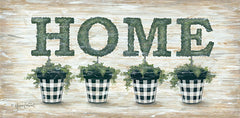 ALP1812 - Gingham Topiaries Home - 18x9