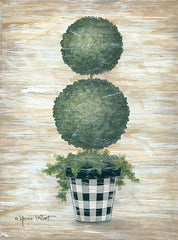 ALP1813 - Gingham Topiary Spheres - 12x16