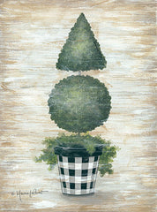 ALP1814 - Gingham Topiary Cone - 12x16