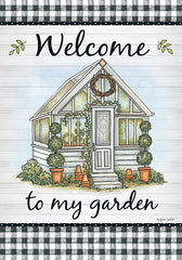 ALP1855 - Welcome to My Garden - 12x18