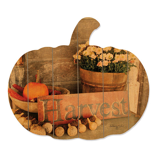 Anthony Smith ANT106PUMP - Autumn Harvest Harvest, Flowers, Pumpkins, Corn, Gourds from Penny Lane