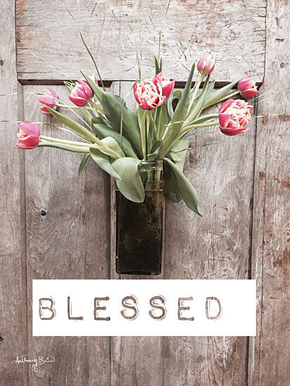 Anthony Smith ANT134 - Blessed Tulips Tulips, Blessed, Door, Flowers from Penny Lane