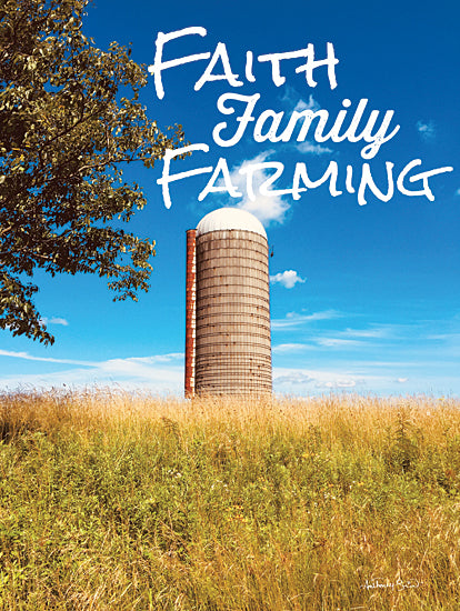 Anthony Smith ANT147 - ANT147 - Faith, Family, Farming Silo - 12x16 Farming, Silo, Faith, Family, Photography, Typography from Penny Lane