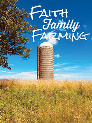 ANT147 - Faith, Family, Farming Silo - 12x16