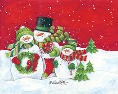 ART1107 - Snowmen Family Merry Christmas
