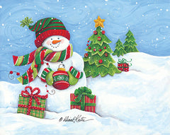 ART1108 - Snowman with Ornament