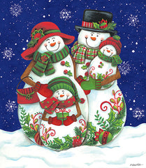 ART1123 - Snow Family I - 12x16