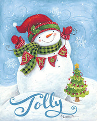 ART1133 - Jolly Snowman - 12x16