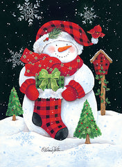 ART1148 - Plaid Snowman - 12x18