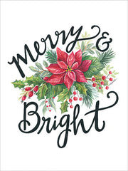 ART1156 - Merry & Bright Wreath - 12x16