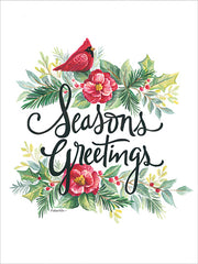 ART1157 - Seasons Greetings Wreath - 12x16