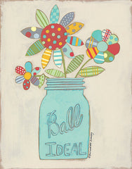 BER1270 - Ball Jar of Flowers