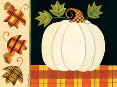 BER1359 - White Pumpkin, Leaves and Acorns - 16x12