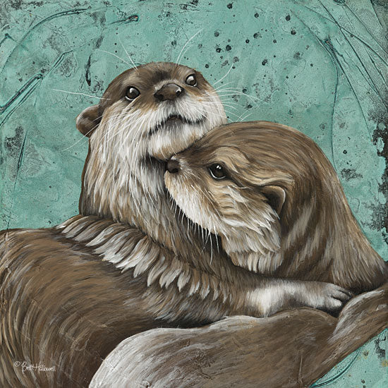 Britt Hallowell BHAR467 - Mischief and Mayhem     Otters, Animals from Penny Lane