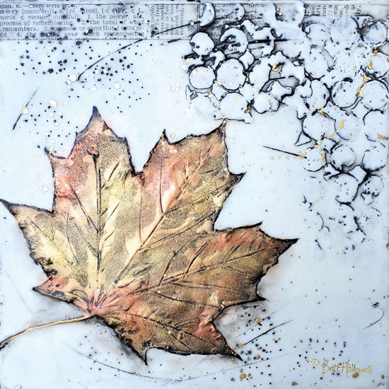 Brit Hallowell BHAR510 - BHAR510 - Channeling Fall 1 - 12x12 Fall, Fall Leaf from Penny Lane
