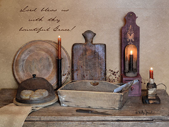 Billy Jacobs BJ1079B - Bountiful Grace - Antiques, Candles, Still Life, Signs from Penny Lane Publishing