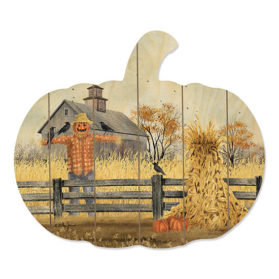 Billy Jacobs BJ1163PUMP - Scatterbrain Scarecrow, Crows, Cornstalk, Fence, Barn, Autumn, Pumpkins from Penny Lane