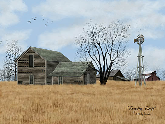 Billy Jacobs BJ1181 - Forgotten Fields - Barn, Farm, Windmill, Field from Penny Lane Publishing