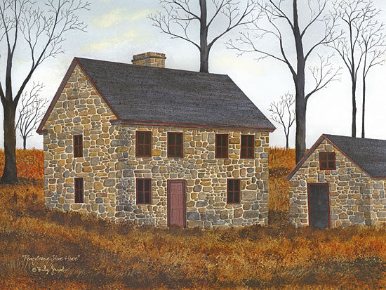 Billy Jacobs BJ1182 - Pennsylvania Stone House Stone House, Farm, Autumn, Homestead from Penny Lane