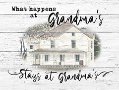 BJ1207 - Stays at Grandma's - 16x12