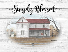 BJ1209 - Simply Blessed - 16x12