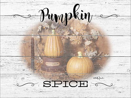 Billy Jacobs BJ1241 - BJ1241 - Pumpkin Spice - 16x12 Signs, Fall, Pumpkin, Candle, Pumpkin Spice, Wood Planks, Typography from Penny Lane