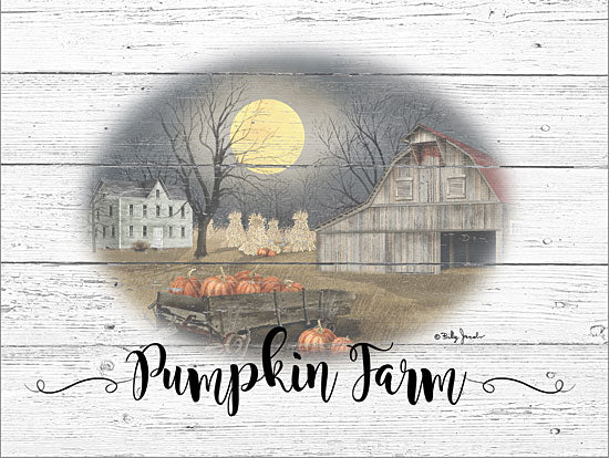 Billy Jacobs BJ1242 - BJ1242 - Pumpkin Farm - 16x12 Signs, Fall, Barn, Pumpkins, Typography from Penny Lane