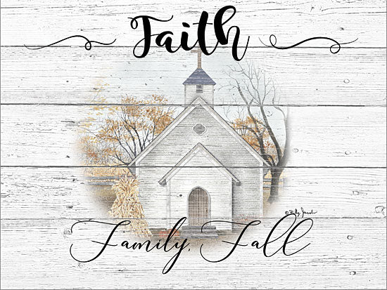 Billy Jacobs BJ1244 - BJ1244 - Faith, Family, Fall - 16x12 Signs, Faith, Family, Fall, Church, Wood Planks, Typography from Penny Lane