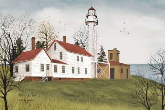 Billy Jacobs BJ163 - Whitefish Point Whitefish Point, Lighthouse, Ocean from Penny Lane