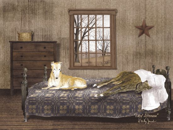 Billy Jacobs BJ164 - Lazy Afternoon Room, Window, Barn Star, Dogs, Bed from Penny Lane
