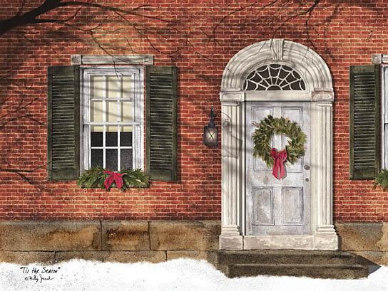 Billy Jacobs BJ220 - Tis the Season - Holiday, Front Door, Wreath, House from Penny Lane Publishing