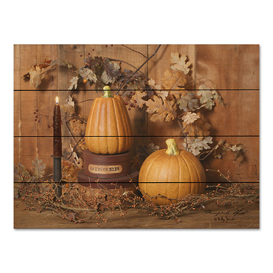 Billy Jacobs BJ443PAL - Pumpkin Spice Pumpkins, Candle, Leaves, Berries, Vines from Penny Lane