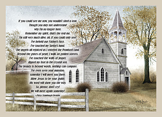 Billy Jacobs BJXD831 - If You Could See Me Now - Church, Memorial, In Memory, Fence from Penny Lane Publishing