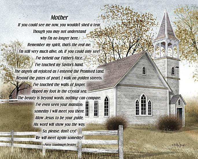 Billy Jacobs BJXD844 - Mother - If You Could See Me Now - Church, Memorial, In Memory, Mom, Mother from Penny Lane Publishing