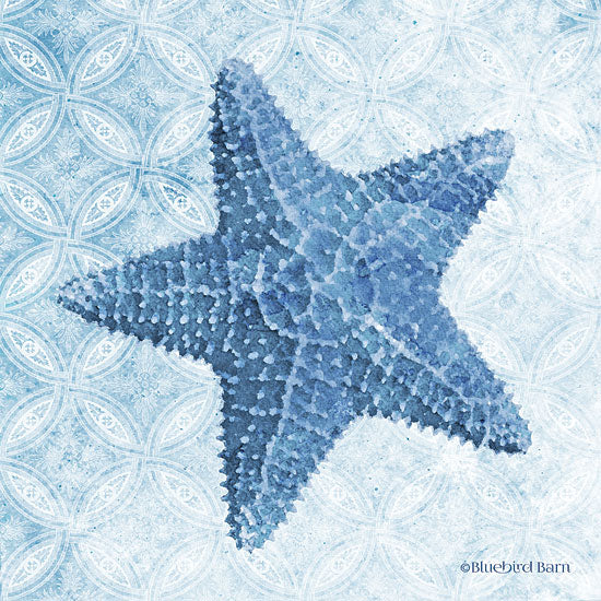 Bluebird Barn BLUE372 - BLUE372 - Starfish I - 12x12 Nautical, Contemporary, Coastal, Seaside from Penny Lane