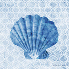 BLUE374 - Seashell I - 12x12