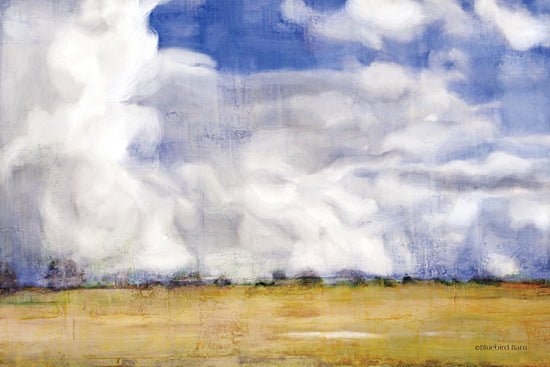 Bluebird Barn BLUE411 - BLUE411 - Big Blue Sky - 18x12 Abstract, Landscape, Clouds, Fields from Penny Lane