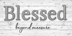 BOY399 - Blessed Beyond Measure - 24x12