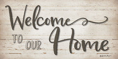 BOY444 - Welcome To Our Home - 24x12