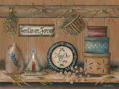 BR462 - Treasures on the Shelf II - 16x12
