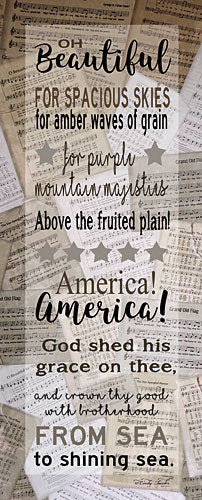 Cindy Jacobs CIN1022 - Oh Beautiful - God Bless America, Song, Sheet Music, America from Penny Lane Publishing