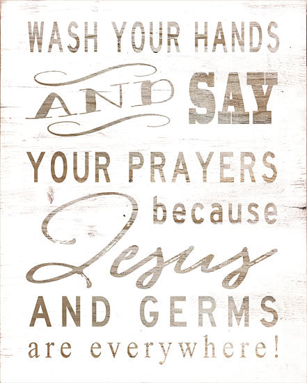 Cindy Jacobs CIN1075 - Wash Your Hands Wash Your Hands, Bathroom, Jesus, Rhyme, Children from Penny Lane