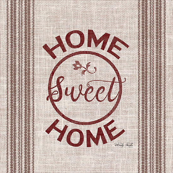 Cindy Jacobs CIN1095 - Home Sweet Home Home Sweet Home, Tea Towel, Country, Country French, Red from Penny Lane